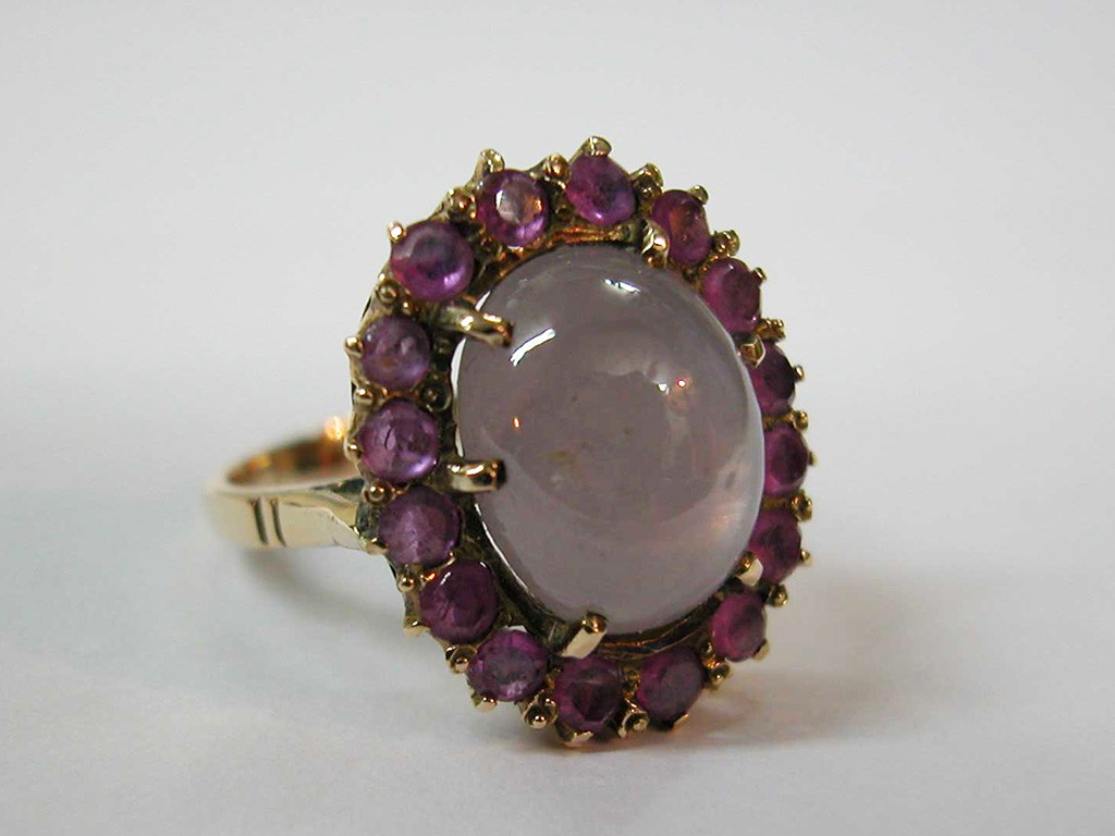 טבעת סטאר-ספיר ורובינים