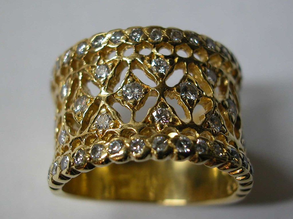 Rare Edwardian Diamond Ring