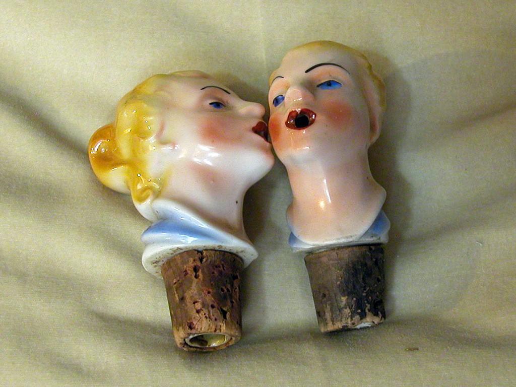 Women Head Shaped Corks