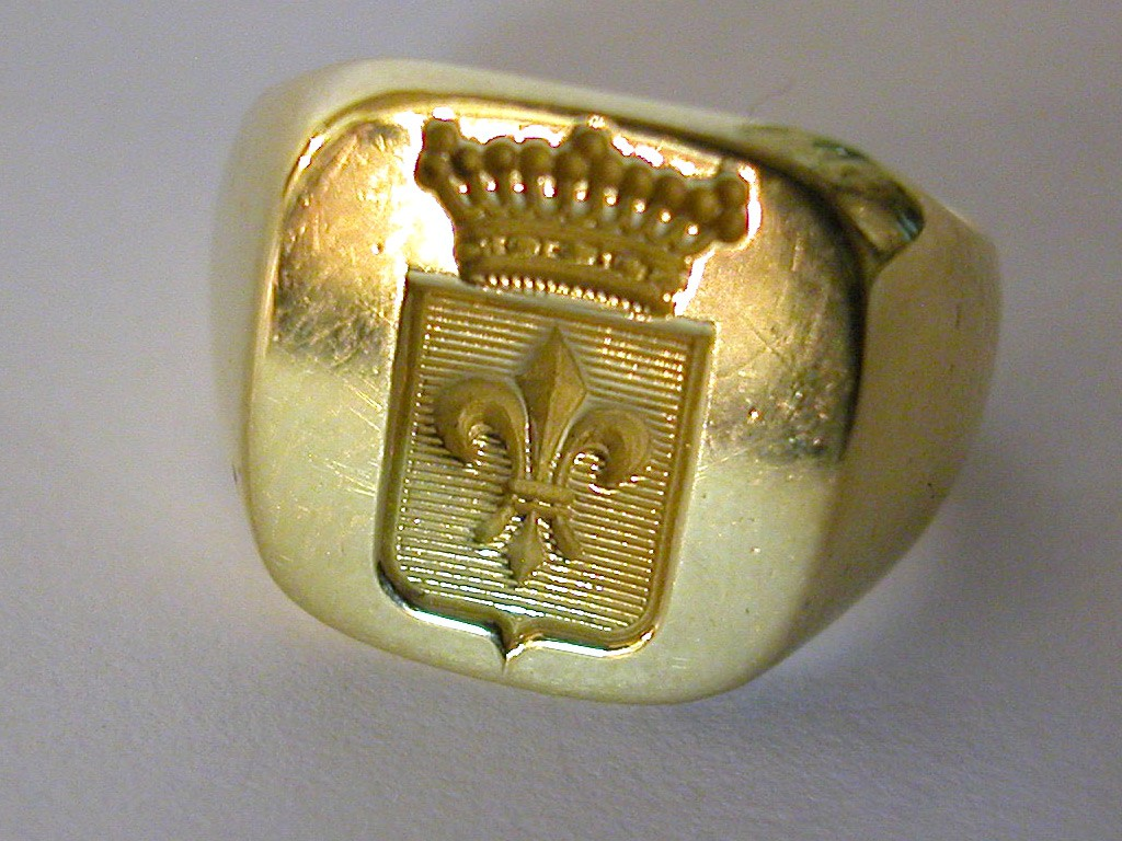French Signet Ring