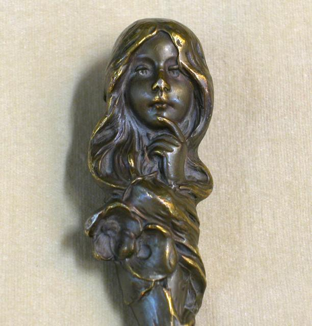 Art Nouveau Bronze Seal