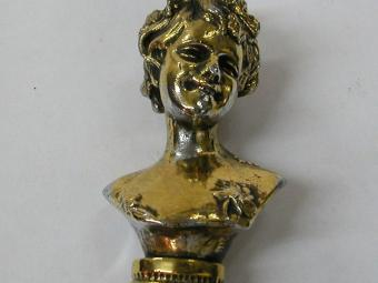 Woman Shaped Bronze Letter Opener