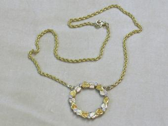 Necklace with Ring Pendant
