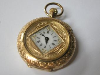 Geneva Gold Pocket Watch
